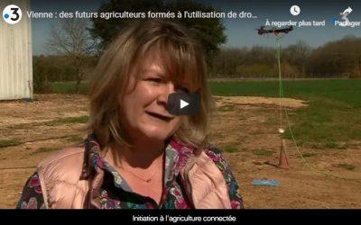 VU A LA TV – Des drones dans la formation des Métiers de l'agriculture