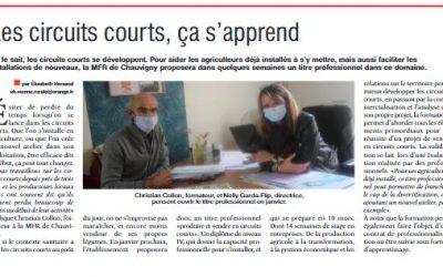 PRESSE – Les circuits courts, ça s'apprend